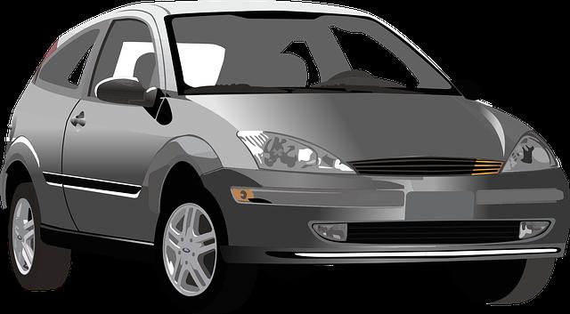 černé auto, ford, kombi