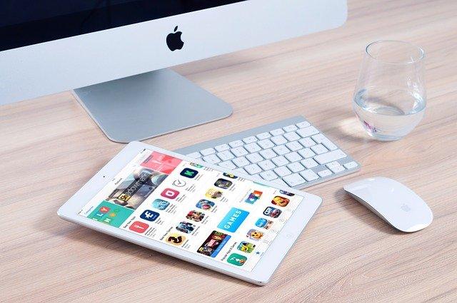 aplikace v tabletu