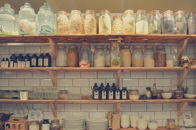 Organizace potravinové skříně