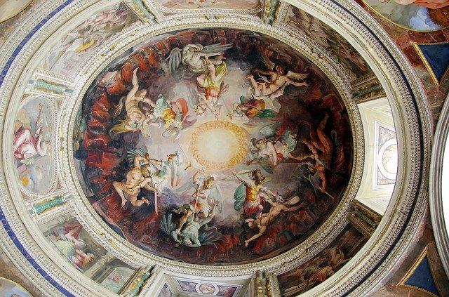 Vzácné fresky v římských katakombách